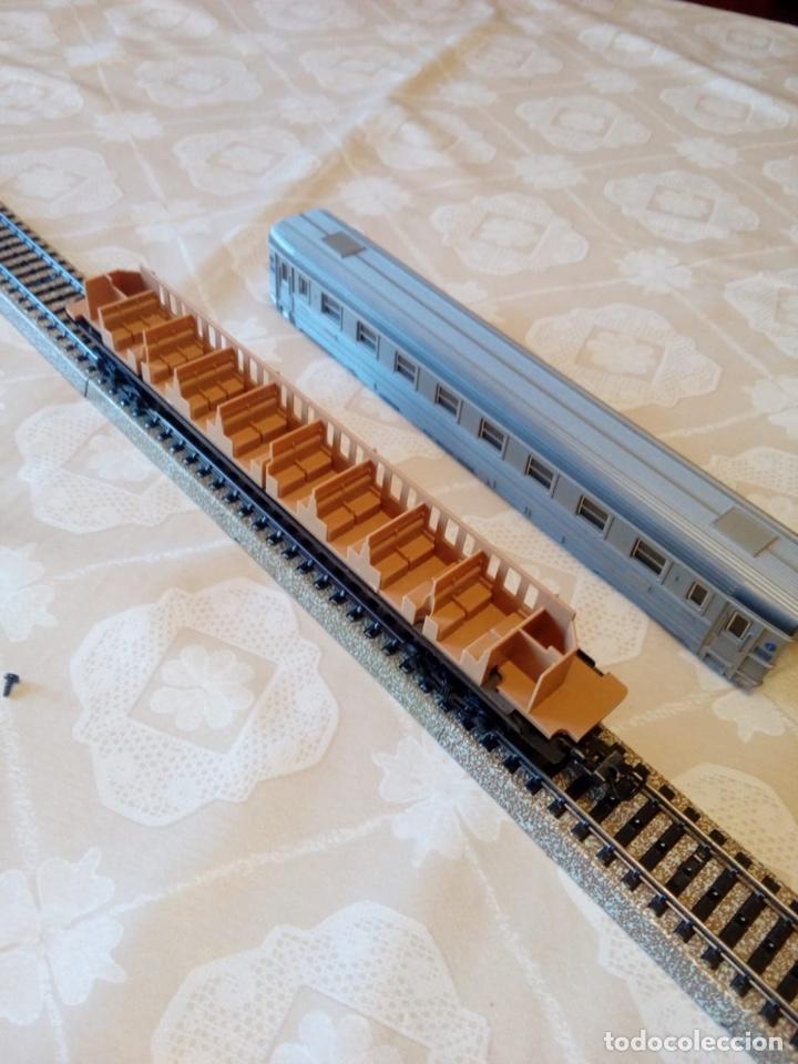 Trenes Escala: Marklin H0 vagón pasajeros ref. 4050 con asientos - Foto 3 - 194212230