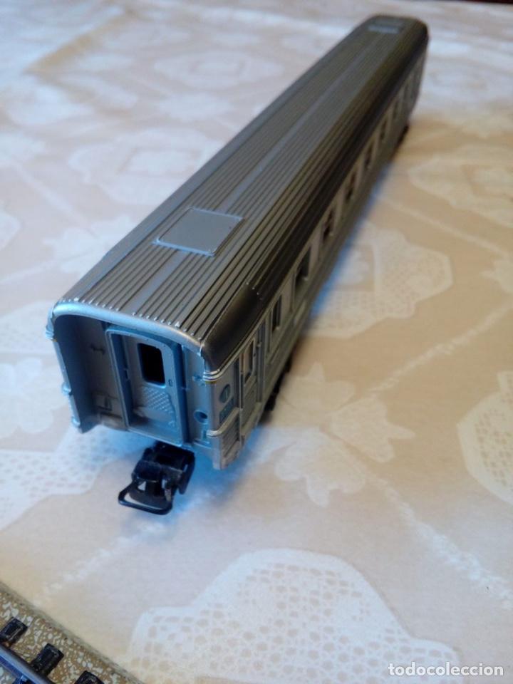 Trenes Escala: Marklin H0 vagón pasajeros ref. 4050 con asientos - Foto 4 - 194212230