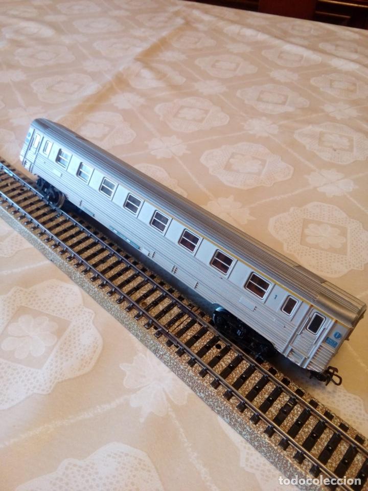 Trenes Escala: Marklin H0 vagón pasajeros ref. 4050 con asientos - Foto 5 - 194212230