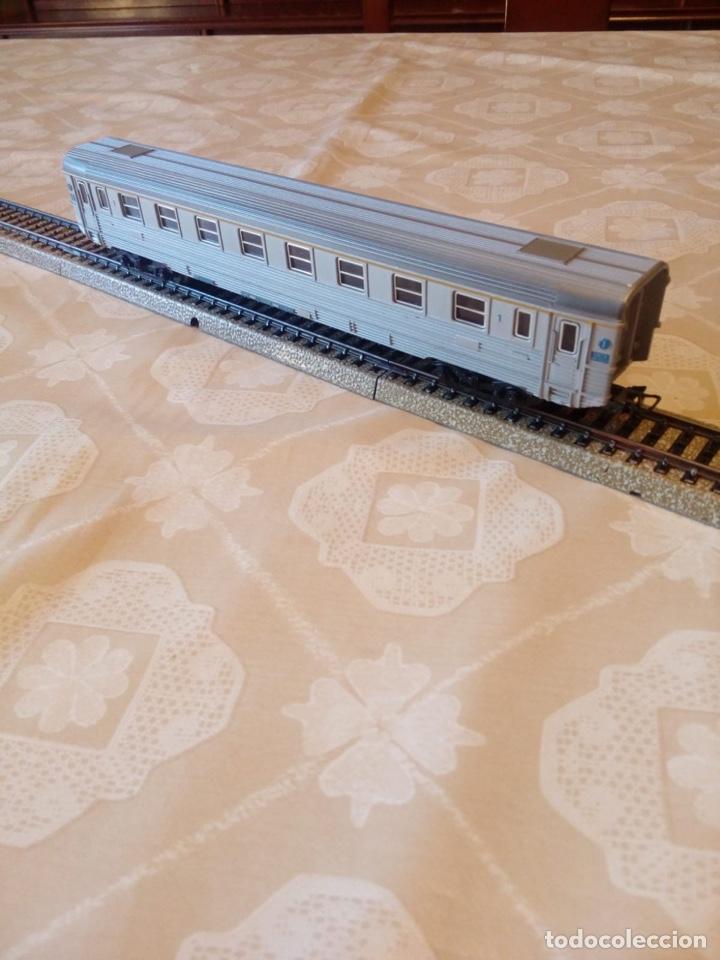 Trenes Escala: Marklin H0 vagón pasajeros ref. 4050 con asientos - Foto 6 - 194212230