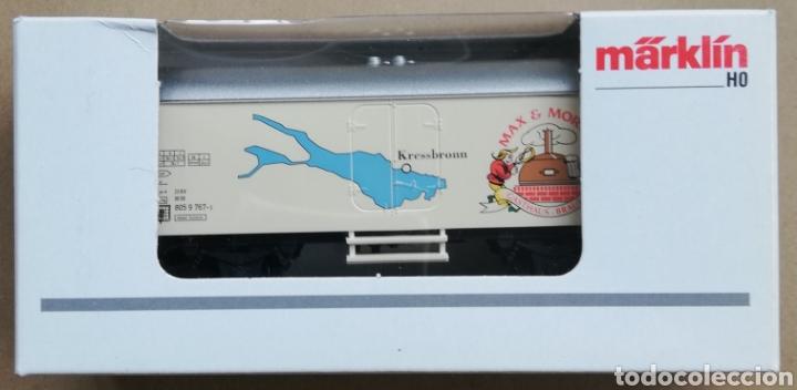 MÄRKLÍN H0 - 44183 VAGON CERVECERO - MAX & MORITZ - EN CAJA SIN ESTRENAR - REF. PJRB (Juguetes - Trenes a Escala - Marklin H0)