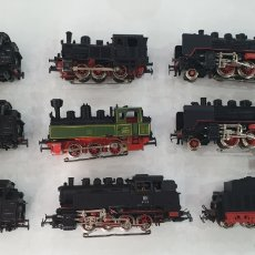 Trenes Escala: LOTE MARKLIN LOCOMOTORA TREN ELECTRICO TENDER. Lote 194406698