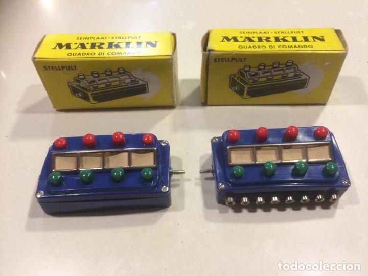 MARKLIN - PUPITRES DE MANDO REF. 7072 (Juguetes - Trenes a Escala - Marklin H0)
