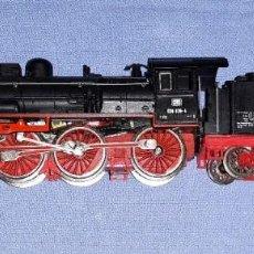 Trenes Escala: LOCOMOTORA VAPOR MARKLIN ESCALA H0 ORIGINAL. Lote 194613102