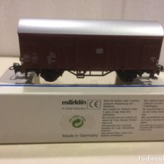 Trenes Escala: MARKLIN H0 - VAGON CERRADO DE MERCANCIAS REF. 4410 . Lote 194684243