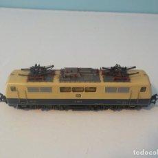 Trenes Escala: MARKLIN REF: 3042 - LOCOMOTORA ELÉCTRICA DE LA DB 111 043-6 CORRIENTE ALTERNA - ESCALA H0. Lote 194764300