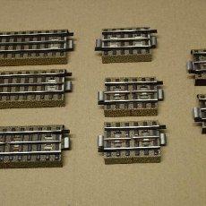 Trenes Escala: MARKLIN H0 8 TRAMOS DISTINTAS MEDIDAS DE VIAS REFERENCIA B 3600 D.. Lote 194898545