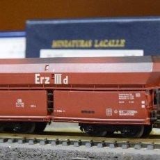 Trenes Escala: MARKLIN H0 VAGÓN TOLVA DE GRAN CAPACIDAD, EPOCA III, DE LA DB, REFERENCIA 4624. ENVEJECIDA.. Lote 194900392