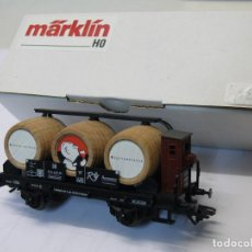 Trenes Escala: MARKLIN H0 VAGÓN CUBAS *MODELLBAHNTREFF 2001* REFERENCIA 48928.. Lote 194973007