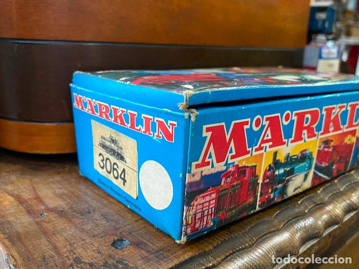 Trenes Escala: Locomotora H0 Marklin 3064 en caja - Foto 2 - 195054541