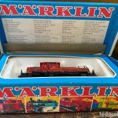 Trenes Escala: LOCOMOTORA H0 MARKLIN 3064 EN CAJA. Lote 195054541