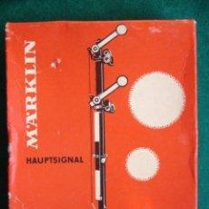 Trenes Escala: MARKLIN 7041 HAUPTSIGNAL ESCALA HO . Lote 195168190