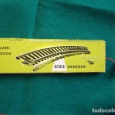 Trenes Escala: MARKLIN 5103 GEBOGEN ESCALA HO CON CAJA. Lote 195187326