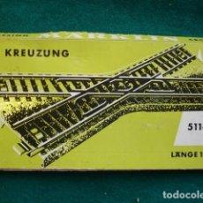 Trenes Escala: MARKLIN 5114 KREUZUNG ESCALA HO CON CAJA. Lote 195187646