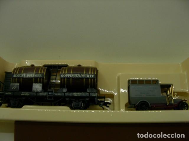 2 VAGONES MUSEO (Juguetes - Trenes a Escala - Marklin H0)