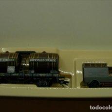 Trenes Escala: 2 VAGONES MUSEO. Lote 195230220