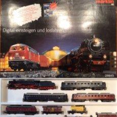Trenes Escala: CIRCUITO MARKLIN HO PREMIUM DIGITAL 29845. IMPECABLE. CON LUZ EN BIELAS Y SONIDO.. Lote 195496533