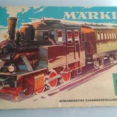Trenes Escala: MARKLIN H0 EQUIPO REF 3 ,TREN DE PASAJEROS. COMPLETO. FUNCIONA. VER FOTOS. Lote 196375960