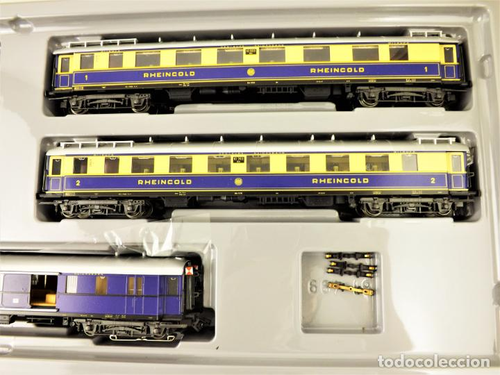 Trenes Escala: Marklin 4228 Rheingold Set completo (Metal) - Foto 4 - 196930268