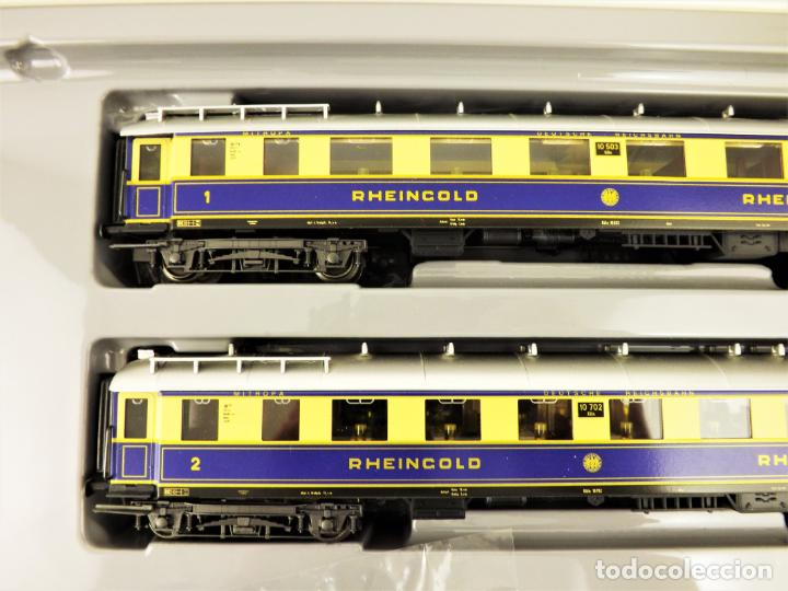 Trenes Escala: Marklin 4228 Rheingold Set completo (Metal) - Foto 5 - 196930268