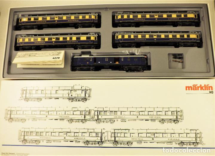 MARKLIN 4228 RHEINGOLD SET COMPLETO (METAL) (Juguetes - Trenes a Escala - Marklin H0)