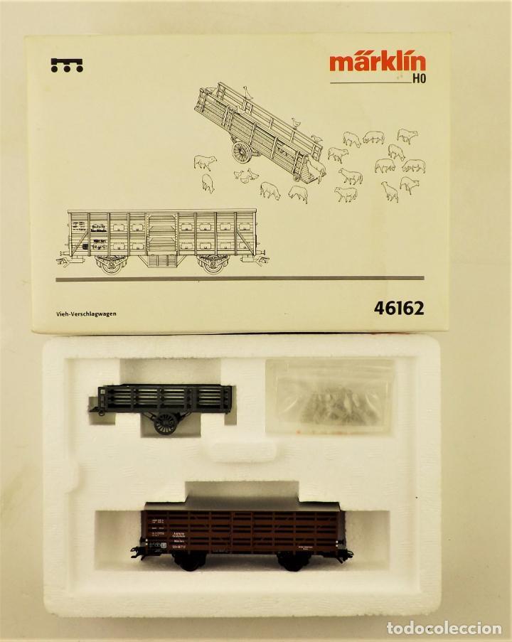 MARKLIN 46162 SET VAGONES GANADO CON ANIMALES (Juguetes - Trenes a Escala - Marklin H0)