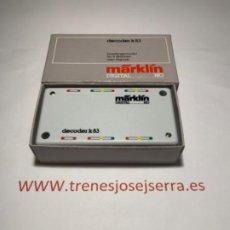 Trenes Escala: MARKLIN 6083 DECODER K83. Lote 197570688