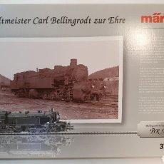 Trenes Escala: MARKLIN 37965 LOCOTENDER VAPOR BR96 MALLET, CON VITRINA Y NUEA ESTRENAR. MFX MIT SOUND. Lote 197578953