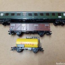 Comboios Escala: 3 VAGONES HO MARKLIN NUEVOS SIN CAJA ENVIO INCLUIDO. Lote 197614752