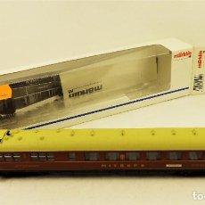 Trenes Escala: MARKLIN 43249 COCHE RESTAURANTE COMPAÑÍA MITROPA. Lote 198084212