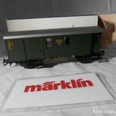 Comboios Escala: VAGÓN FURGON ESCALA HO DE MARKLIN . Lote 198527410