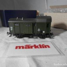 Comboios Escala: VAGÓN FURGON ESCALA HO DE MARKLIN . Lote 198527936