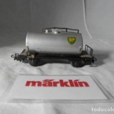 Comboios Escala: VAGÓN CISTERNA BP ESCALA HO DE MARKLIN . Lote 198530023