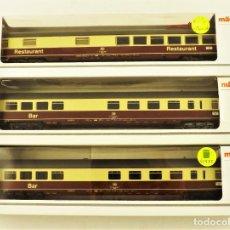 Trenes Escala: MARKLIN 42972 + 42972 + 42973 (SONIDO) COCHES DE PASAJEROS TEE. Lote 198677348