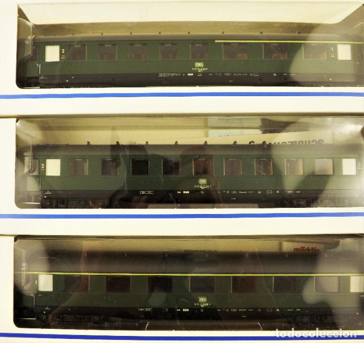 Trenes Escala: Marklin 43210 + 43220 + 43200 Coches de pasajeros DB - Foto 2 - 198677535