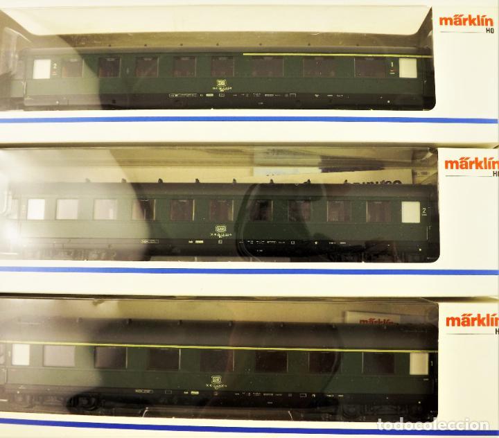 Trenes Escala: Marklin 43210 + 43220 + 43200 Coches de pasajeros DB - Foto 3 - 198677535