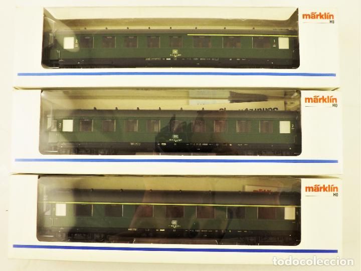 MARKLIN 43210 + 43220 + 43200 COCHES DE PASAJEROS DB (Juguetes - Trenes a Escala - Marklin H0)