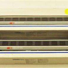 Trenes Escala: MARKLIN 4368 + 4369 COCHES DE PASAJEROS SBB EUROCITY. Lote 198682088