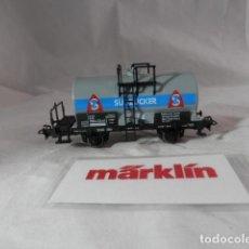 Trains Échelle: VAGÓN CISTERNA ESCALA HO DE MARKLIN . Lote 198746838