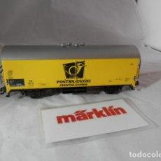 Trains Échelle: VAGÓN CERRADO ESCALA HO DE MARKLIN . Lote 198749083