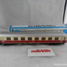 Trains Échelle: VAGÓN PASAJEROS DE LA DB ESCALA HO DE MARKLIN. Lote 198793680