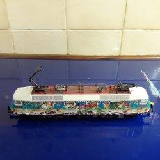Trenes Escala: LOCOMOTORA MARKLIN DB 120129-2 H0 DE NAVIDAD. Lote 199153228