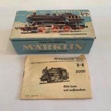 Trenes Escala: MARKLIN. HO. REF 3000. Lote 199194460