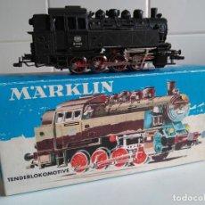 Trenes Escala: MÄRKLIN HO REF 3031.TELEX KUPLUNG.LOCOMOTORA DE VAPOR DE LA DB.. Lote 199213325