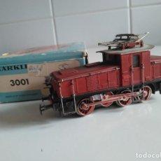 Trenes Escala: MÄRKLIN HO REF 3001LOCOMOTORA ELÉCTRICA DE MANIOBRAS DE LA DB.. Lote 199300876