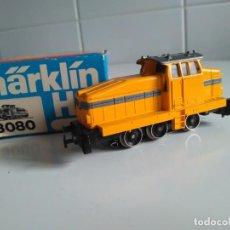 Trenes Escala: MÄRKLIN HO REF 3080.LOCOMOTORA DIESEL DE MANIOBRAS DE LA DB.. Lote 199301820