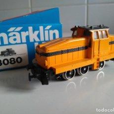Trenes Escala: MÄRKLIN HO REF 3080.LOCOMOTORA DIESEL DE MANIOBRAS DE LA DB. (2). Lote 199303032