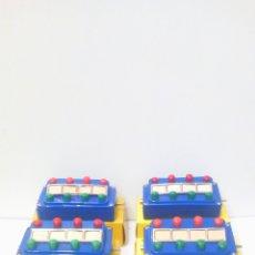 Trenes Escala: 4 PUPITRES DE CONTROL MARKLIN 7052. PRESENTAN UN DEFECTO. H0 Z. Lote 199329853
