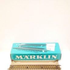 Trenes Escala: 2 TRAMOS DE PUENTE METALICO MARKLIN 7168. H0 VIA M. NUEVO.. Lote 199332771