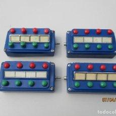 Comboios Escala: MARKLIN CUATRO PUPITRES DESVIOS. Lote 199999010